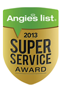 Super Service Award 2012 Angie's List