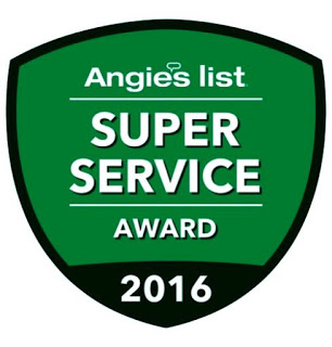 Super Service Award 2016 Angie's List