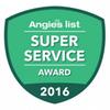 Angies List Super Service Award Recipient