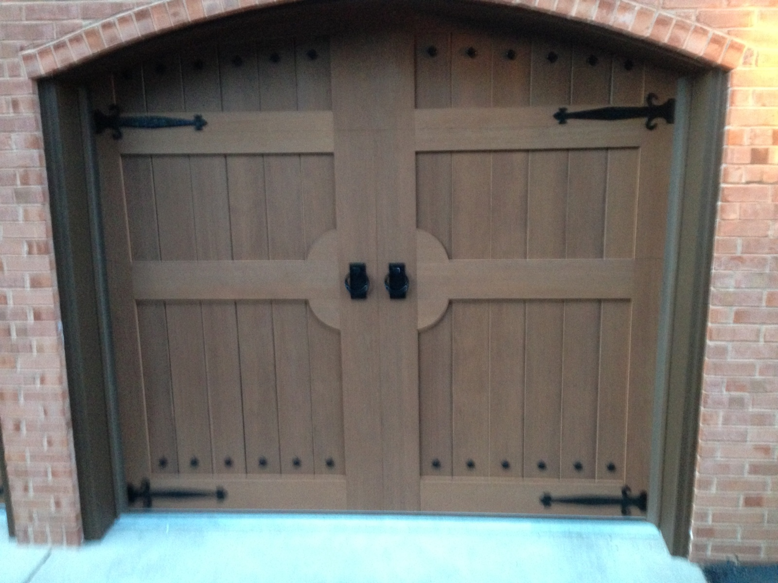 Beautiful custom designed garage doors affordable door for Beautiful garage doors